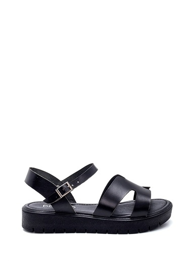 Derimod Kadın Sandalet (336) Casual Siyah